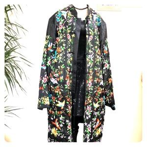 Vintage Chinese Silk Embroidered Jacket Robe